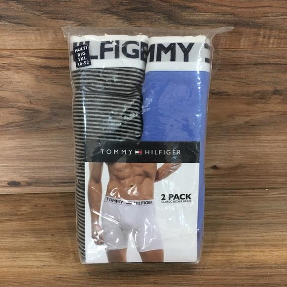 ef0aead1934c3 Tommy Hilfiger Big 2-Pack Boxer Briefs Mens 3XL NWT
